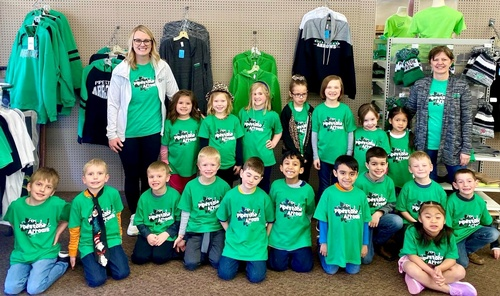 Mrs. Terry's Kindergarten Class Field Trip 2020 to SoJo's Sportswear & Embroidery