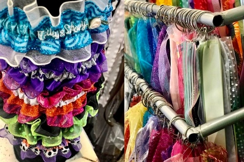 Prom Garters & Ribbons at SoJo's