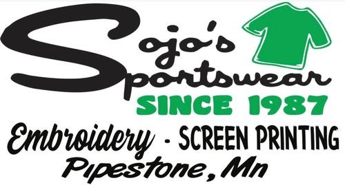 SoJo's Sportswear & Embroidery logo
