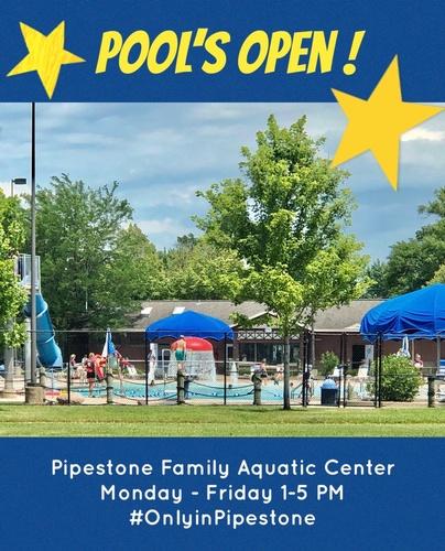 Pool is open 2020