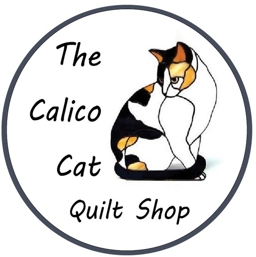 The Calico Cat Quilt Shop Logo