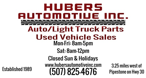 Hubers Automotive Inc. Locations & Hours