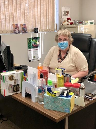 Diane Heard - Manager of Pipestone Senior Center - Photo by Erica Volkir