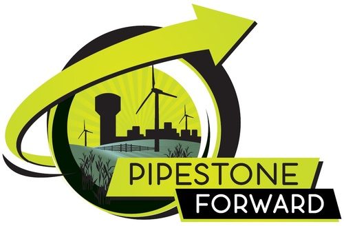 Pipestone Forward Logo - Created by: Pipestone Publishing