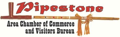 Pipestone Area Chamber of Commerce & CVB Logo