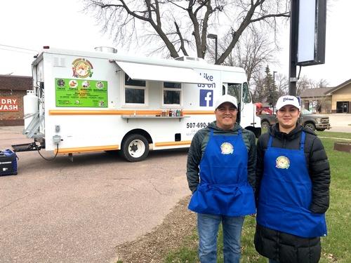 Homero & Maria, Owners of Taqueira El Tarasco Food Truck - Photo by Erica Volkir