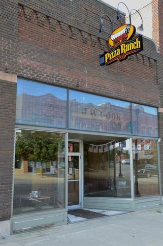 Pizza Ranch on Main Street in Historic Downtown Pipestone