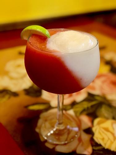 Miami Vice Cocktail (photoby Erica Volkir)
