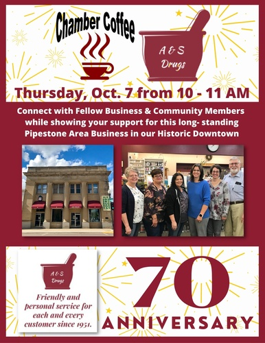 70th Anniversary Chamber Coffee Event