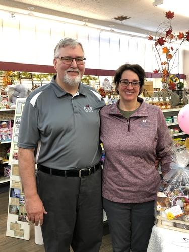 Owner/Pharmacist Jay Norberg and Owner Sandra Norberg
