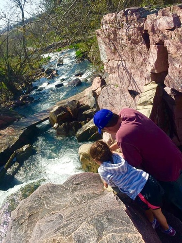 Above Winnewissa Falls - Photo by Karen Vaux