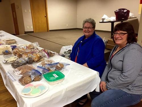 American Legion Auxiliary Bake Sale - Photo by Erica Volkir