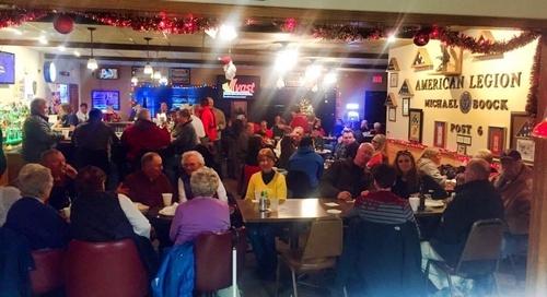 American Legion Christmas Open House - Photo by Erica Volkir