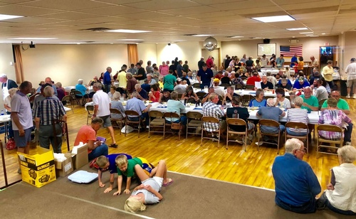 Legion Membership Dinner - Photo by Erica Volkir