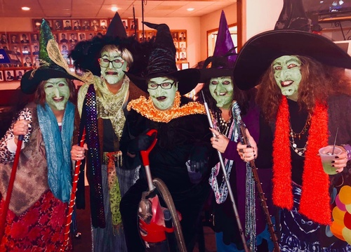 Monster Mash - Costume Contest Winners - Photo by Erica Volkir