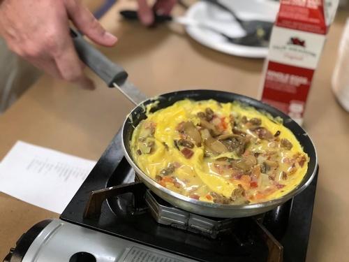 Omelet Breakfast Fundraiser - Photo by Erica Volkir
