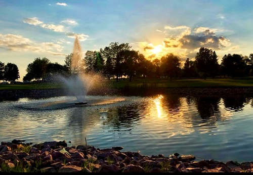 Sunset at PCC Golf & Event Center - Photo by Wendy Schoolmeester