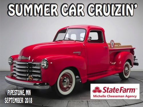Chamber Summer Car Cruizin Sponsor 2018