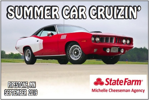Chamber Summer Car Cruizin Sponsor 2019