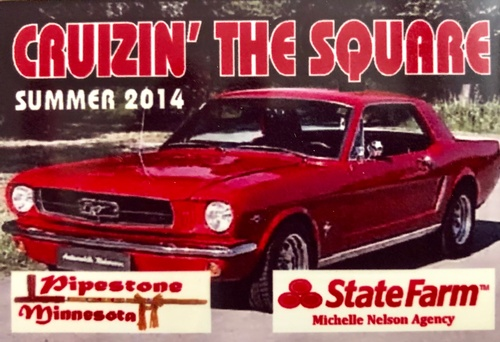 Chamber Summer Car Cruizin Sponsor 2014