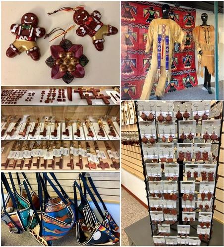 Merchandise at Prairie Maiden Treasures - Photo by Erica Volkir