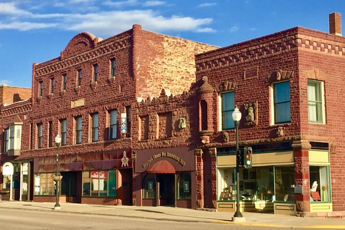 Pipestone Performing Arts Center in Historic Downtown Pipestone. Photo by Erica Volkir.