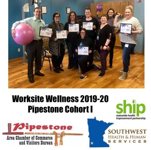 Worksite Wellness Cohort in Pipestone 2019-2020