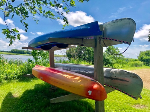 Canoe & Kayak rentals at Split Rock Creek State Park (Photo by Erica Volkir)