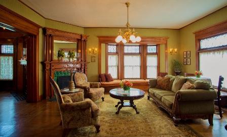 Cartier Mansion - Living Room