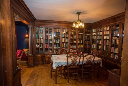 Cartier Mansion - Library