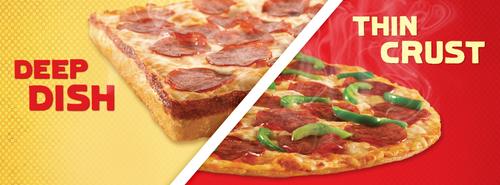 Pizza!  Always a good choice