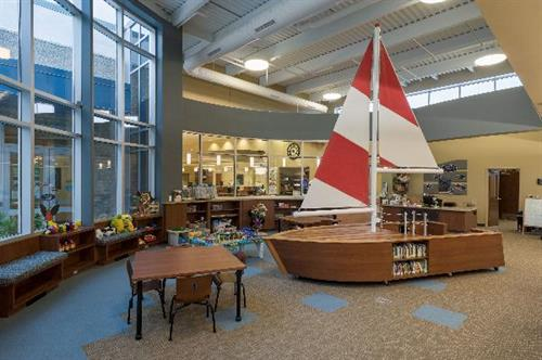 Keith Wilson Children's Center at Ludington Library