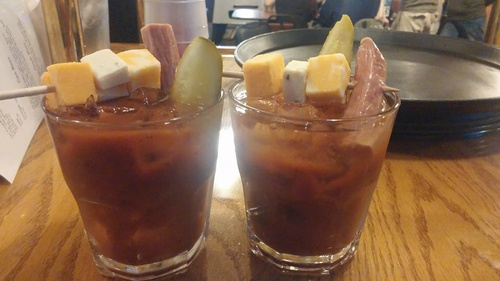 Michigan Bloody Mary - Made with Bacon Vodka