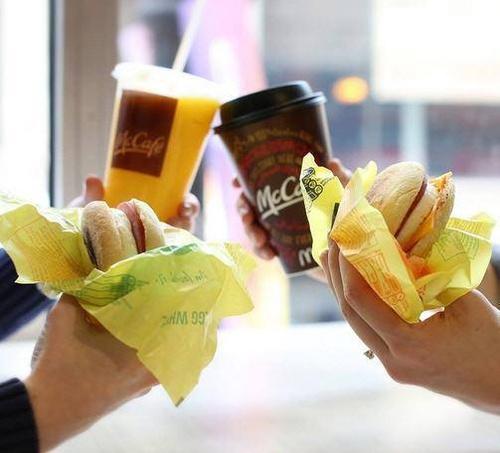 Breakfast at McDonalds