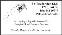 B's Tax Service LLC