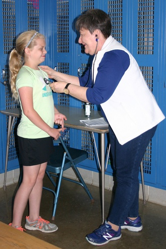 School sports physicals are provided at no cost by our medical staff.