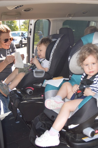 Free car seat checks are provided by certified hospital staff.