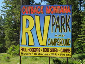Outback Montana RV Park & Campgroud