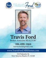 Travis Ford Broker Associate Realtor with NSB Homes