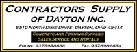Contractors Supply of Dayton, Inc.