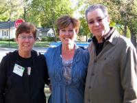 Cathy Bock, Geralyn Thomas & Mark Pfeffer On A&E's Hoarders show October 2010