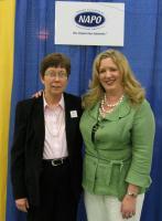 Cathy Bock & Laura Leist - NAPO President