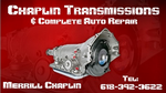 Chaplin Transmissions & Complete Auto Repair