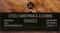 Steele Handyman & Cleaning Services