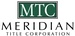 Meridian Title Corporation