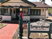 The Christmas Shoppe & The Spruce House