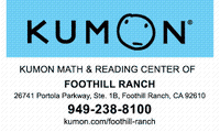 KUMON Math & Reading Center of Foothill Ranch