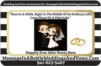 Message In A Bottle Weddings and Vows