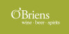 O'Briens Wine Beer Spirits