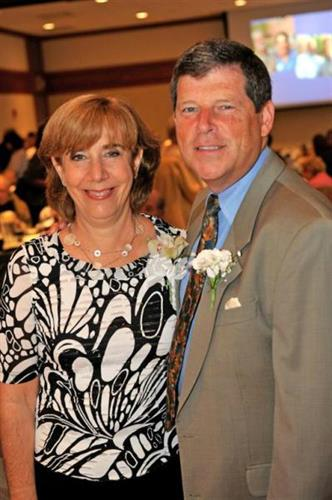 Judy Willensky with husband Steve, Montefiore Board Chair.